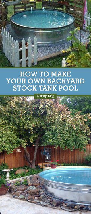 stock tank swimming pool ideas     pool