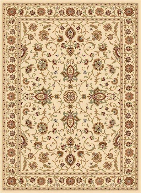 Ivory Persian Area Rug 8x8 Round Oriental Carpet 3207 8x8 Area Rugs