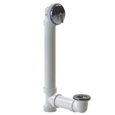 watco bathtub faucets watco 600 series 16 in sch 40 pvc bath waste trip lever