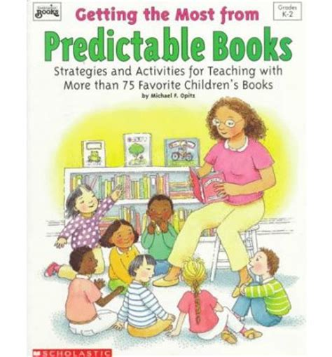 predictable picture books getting the most from predictable books strategies and