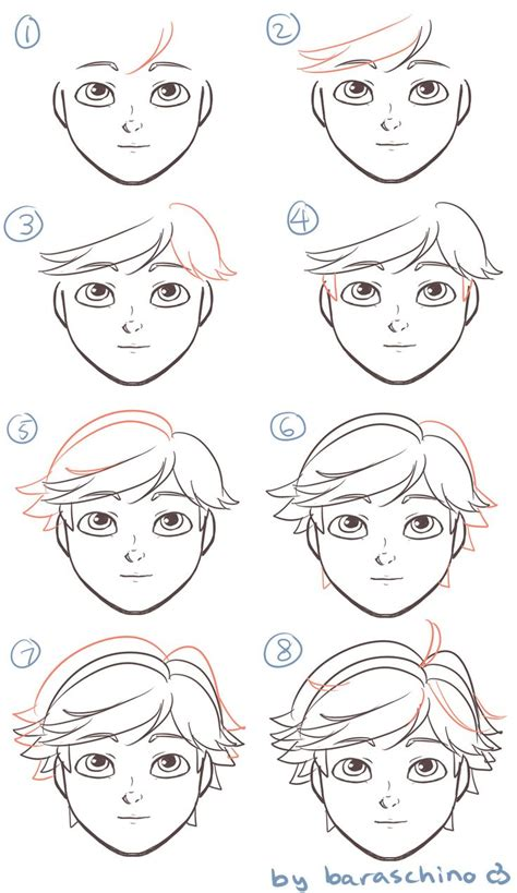 pin by angi on dibujos craneales pinterest how to draw adrien agreste french cartoon w catchy