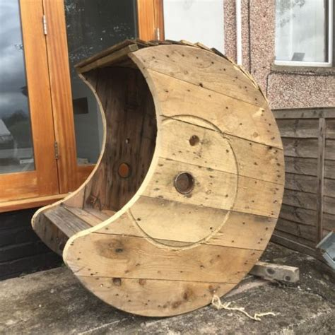 Cable Reel Rocking Chair by Rocking Chairs Solid Wood And Drums On