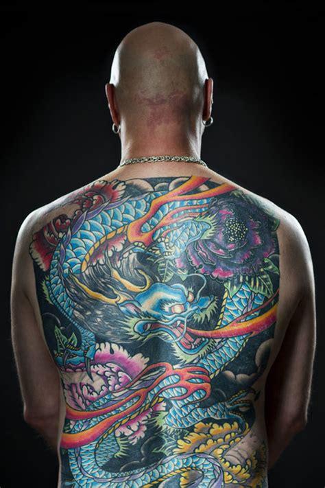 oriental tattoo full back colored japanese dragon full back tattoo tattooshunt com