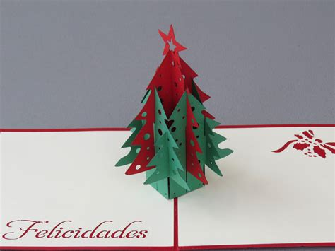 193 rbol navide 241 o 3d kiriarte un nuevo concepto de tarjetas