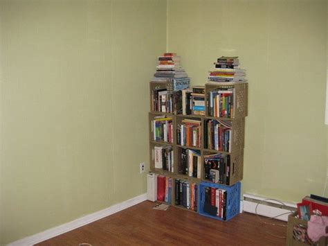 milk crate shelf 183 a bookcase cubby 183 creation by