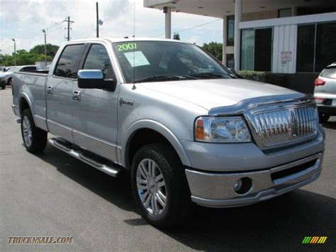 2007 lincoln lt supercrew 4x4 in silver metallic