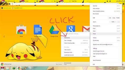 ganti wallpaper google chrome tutorial ganti background facebook di google chrome