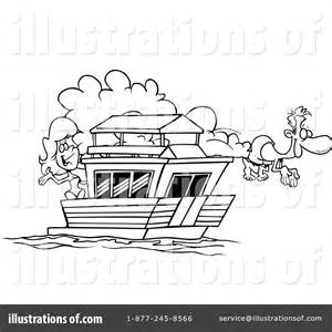 houseboat clipart black and white boat clipart 442864 illustration by ron leishman