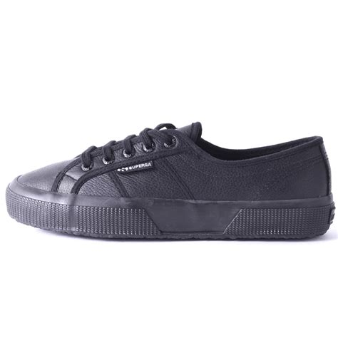 Black Unisex superga 2750 le unisex trainers in black black
