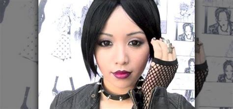 how to create a nana osaki punk rock makeup look for