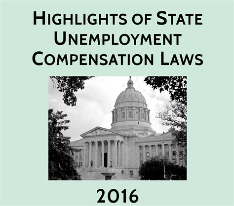 reference books of unemployment highlights of state unemployment compensation laws
