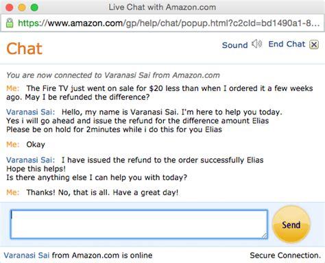 amazon live chat amazon live chat customer service