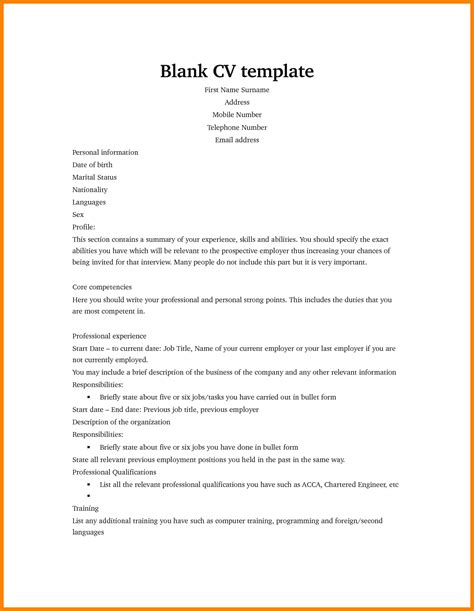 sles of a curriculum vitae resume 6 curriculum vitae exles for theorynpractice