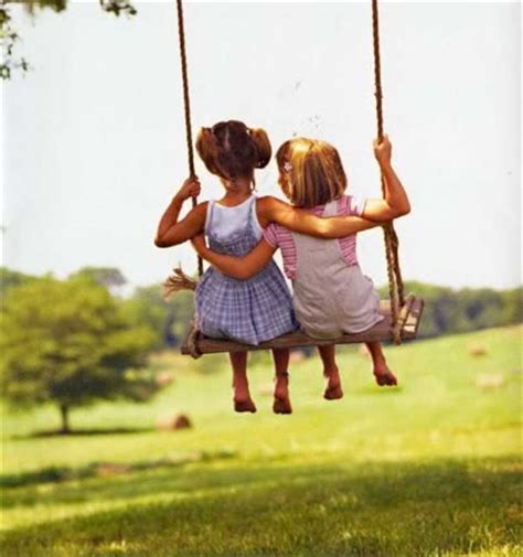 swing swing together bff s little girlfriends swinging together so adorable
