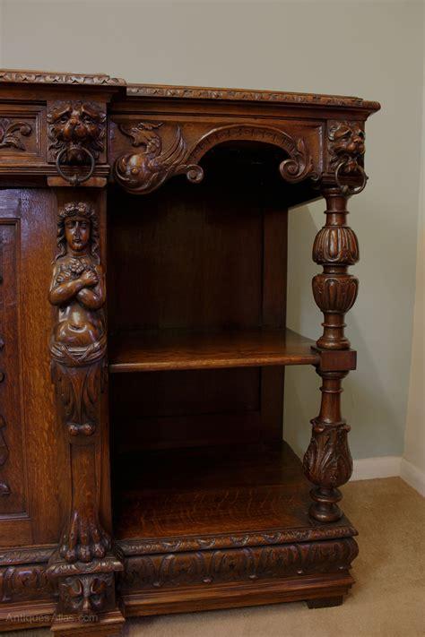 Sideboard Antique by Antique Carved Oak Sideboard Server Antiques Atlas