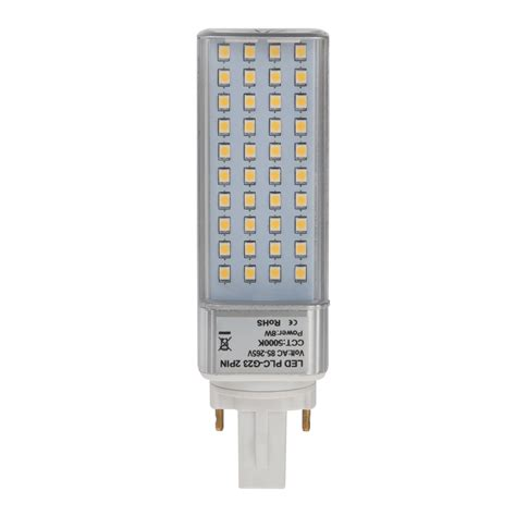 Lu Philips Plc 18 Watt plc l g23d 2 pin led bulb 8 watts 18w equivalent