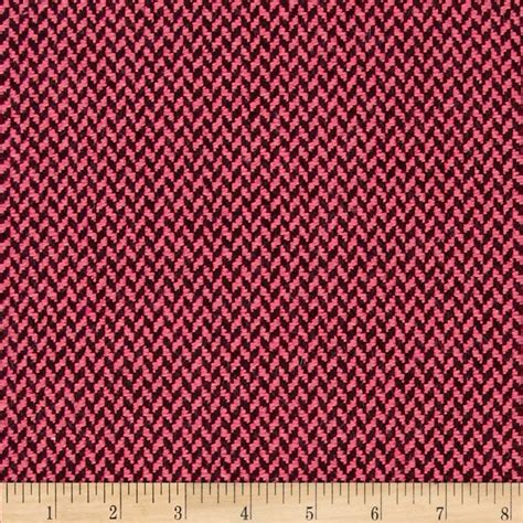 wool upholstery fabric wool blend coating pink black discount designer fabric