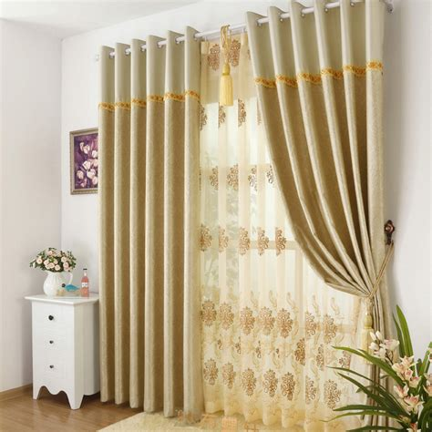 modern unique window curtains are for living room