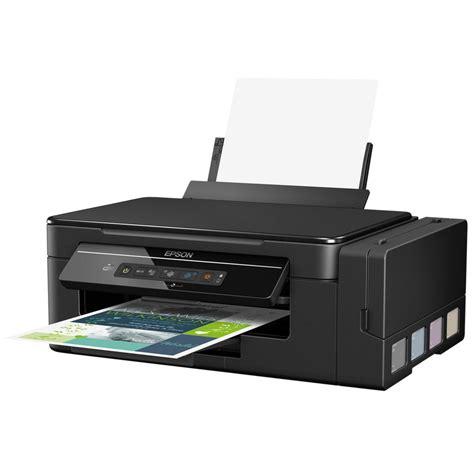 Printer Epson Ecotank epson ecotank et 2600 all in one colour inkjet printer wi fi a4 black staples 174