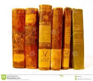 Books On Set Of Antique Books Royalty Free Stock Photos Image