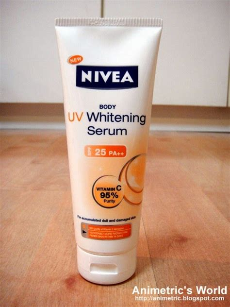 Nevia Serum Whaitening nivea uv whitening serum review animetric s world
