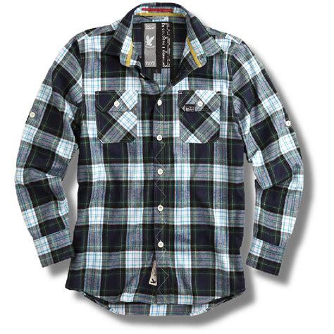 Pattern Blue Lumberjack Shirt | surplus raw vintage lumberjack brushed cotton check shirt