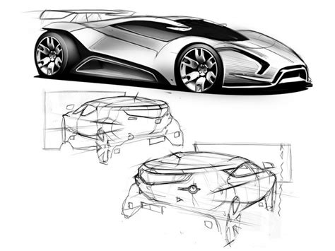 tutorial design car what makes a good design sketch and what are they for