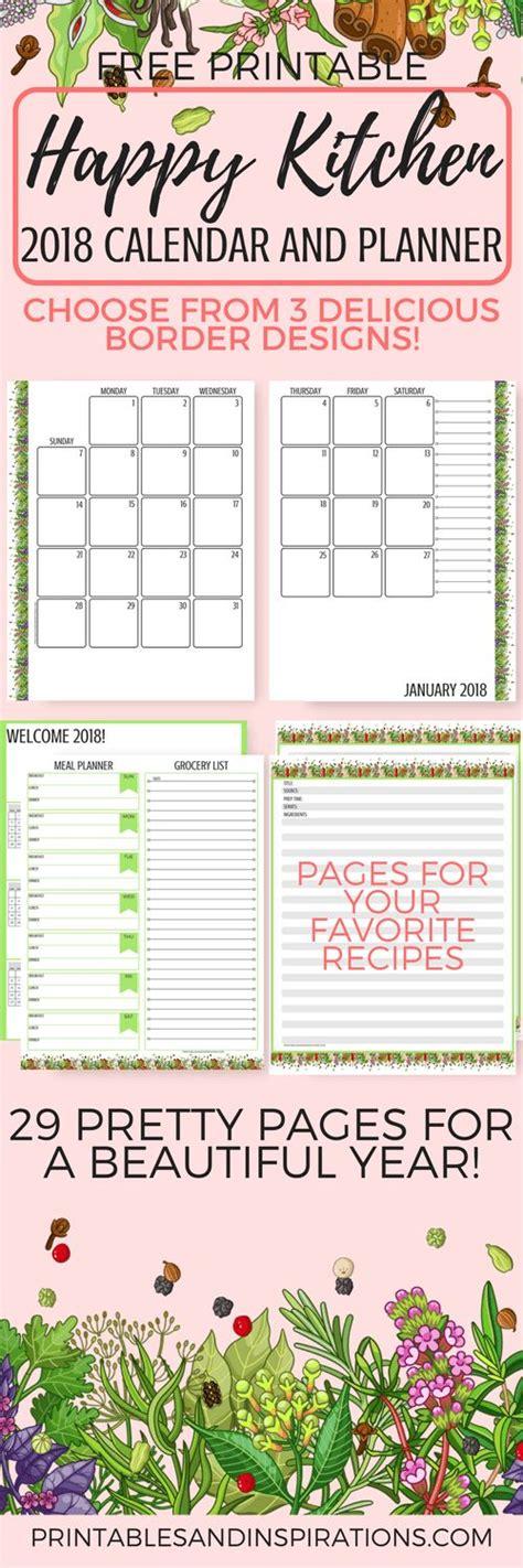 printable kitchen planner best 25 printable calendars ideas on pinterest print