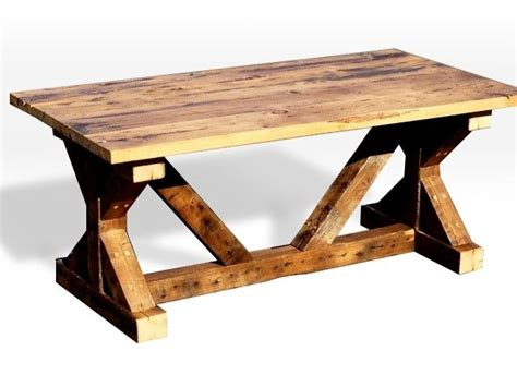 handmade picnic table and dining room table by league