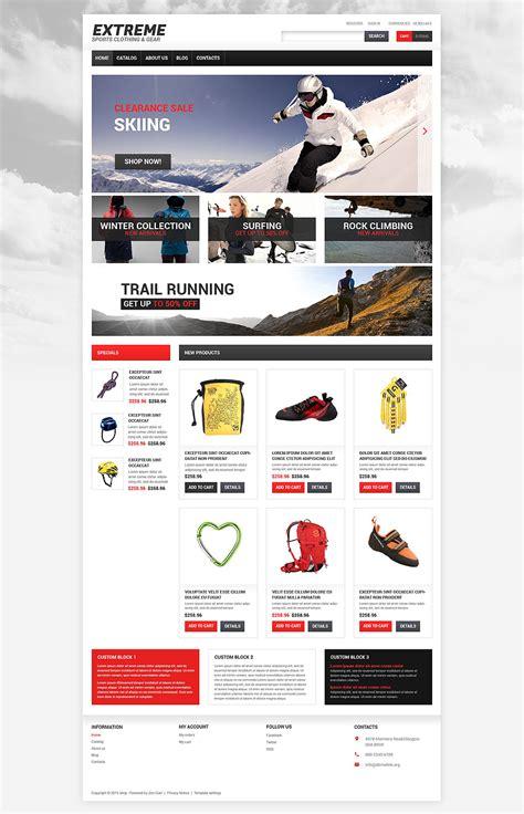 Html5 Design Vorlagen Virtuemart Vorlage 55011 F 252 R Extremsportarten