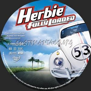 attachment php 502 793 disney herbie fully loaded dvd label dvd covers labels by