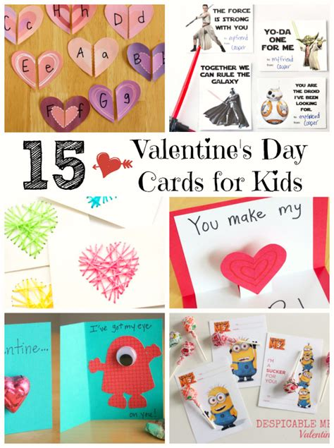 valentines day cards for children to make 15 s day cards for make and takes