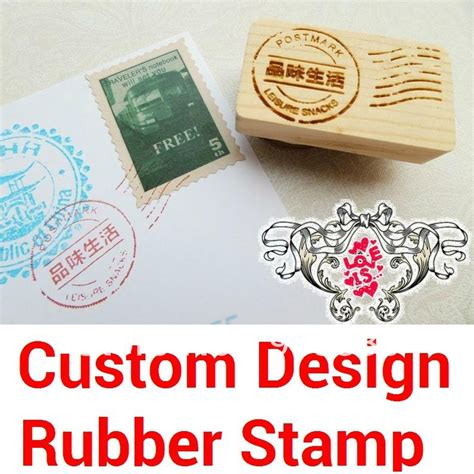 custom wood rubber sts aliexpress buy custom design rubber st wood