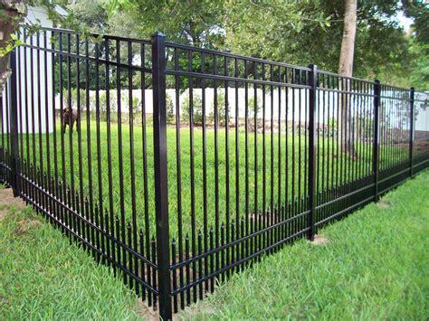 natchez fence 187 aluminum gates and fences gallery