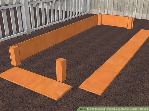 vegetable garden boxes 3 ways to build raised vegetable garden boxes wikihow