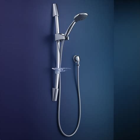 Rail Shower by Dorf Wels 3 Tempus Chrome Rail Shower Bunnings