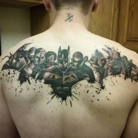 batman chest tattoo 40 cool batman designs for a supercharged style