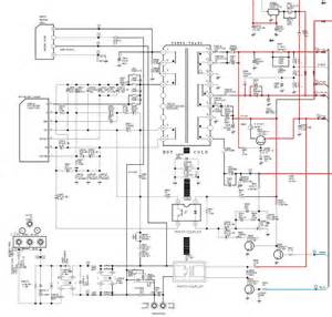 samsung cl29x50 power supply smps schematic circuit diagram str x6750f