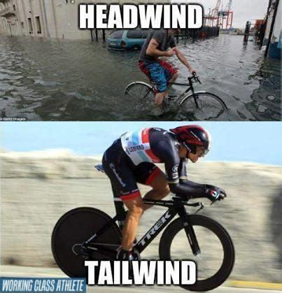 Cycling Memes - cycling meme head wind tail wind cycling pinterest