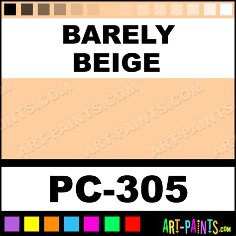 barely beige color cake paints pc 305 barely
