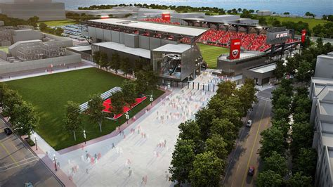 all the details of the new d c united stadium black and