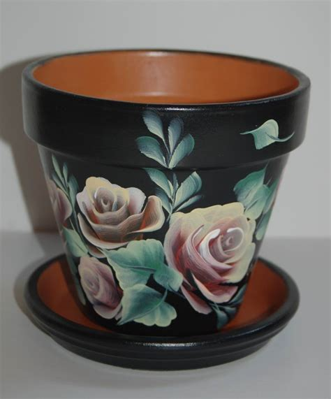 Flower Pots Painted Flowerpots Flower Pots