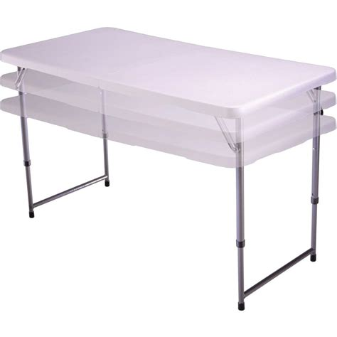 Rv Folding Table by 4 White Fold N Half Table Lifetime 4428 Folding