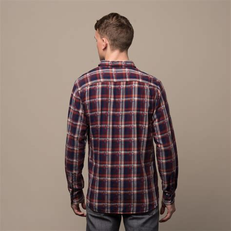 Jachs Ny Plaid Shirt Branded light flannel plaid shirt textured dobby s jachs ny touch of modern