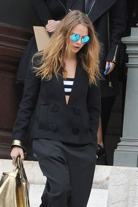 Snubbed By Designer by Cara Delevingne Snubbed By Designers At Fashion