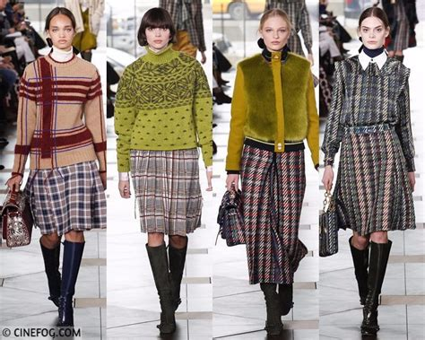 Winter Fashion Trends How To Wear Plaid by Skirts Fall Winter 2017 2018 Fashion Trends Cinefog