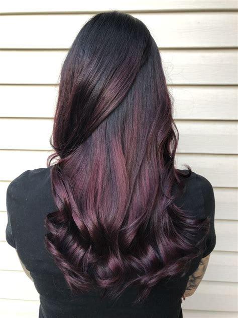 mahogany curls ombre best 25 mahogany hair ideas on pinterest dark cherry