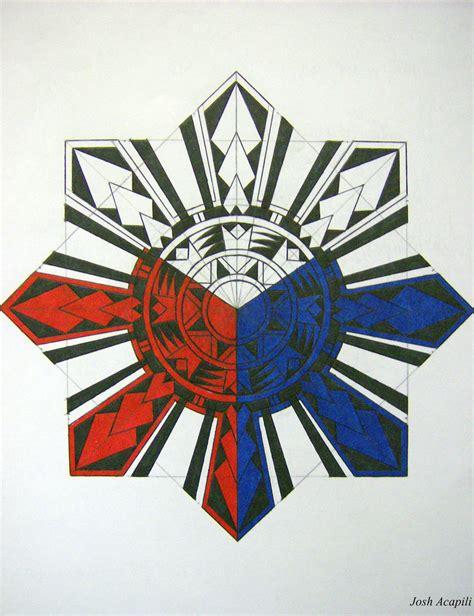 layout artist in tagalog tribal philippine sun by badlucky666 on deviantart