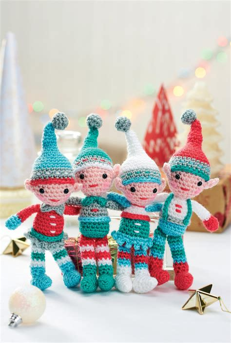 best freecrochets christmas a family of crocheted elves crochet pattern