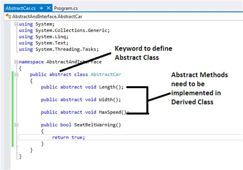 c tutorial abstract class when to use interface and when to use abstract class